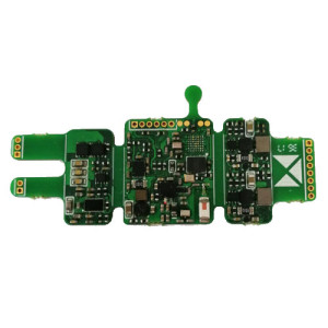 Multilayer HDI PCB with Micro BGA Assembled