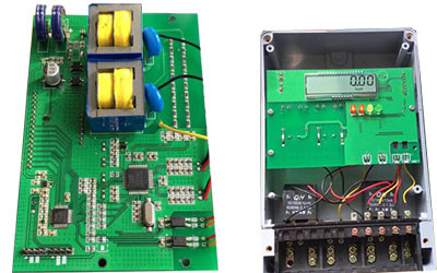pcba for two three wire electronic meters