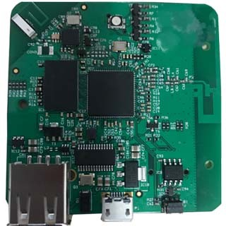 Communication pcb assembly