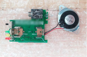 horn circuit board assembly
