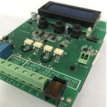 Solar Stabilized Voltage Printed Circuit Board Assembly