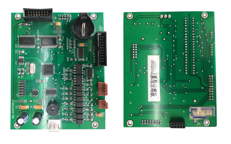 pcb assembly for monitoring system
