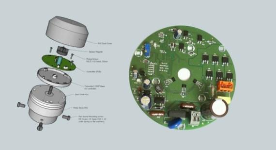circuit board for fan