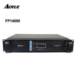 высокая мощность 4400 Вт 2-канальная стереофоническая лаборатория FP14000 усилитель мощности для двойного 18-дюймового сабвуфера