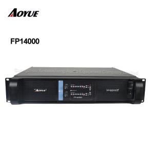 alta potência 4400 watts 2 canal estéreo laboratório FP14000 amplificador de potência para dual 18 polegada subwoofer