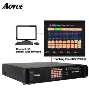 FP20000q com função dsp 2200W 4 canais de amplificador de potência profissional DSP20000Q