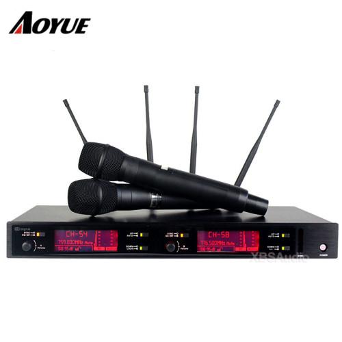 La última etapa de actuación profesional UHF AXT220D micrófono inalámbrico digital de mano