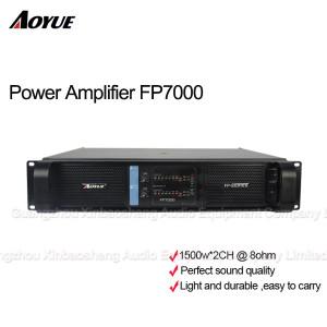 Amplificador de poder extremo profissional do módulo FP7000 de 7000 watts com 2 canais
