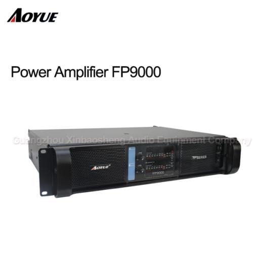 Amplificador de potencia de sonido estéreo de dos canales 3000W FP 9000 con ce rohs