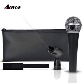 Professionelle hochwertige Wired Dynamic Moving Coil Vocal Instrument Klon SM-58 lc Mikrofon