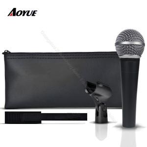 Profesjonalny wysokiej jakości Wired Dynamiczny Moving Coil wokalowy klon klonowy SM-58 lc Mikrofon