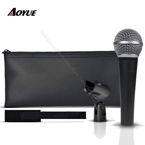 Microfono professionale clone SM-58 lc per chitarra acustica con movimento dinamico di alta qualità