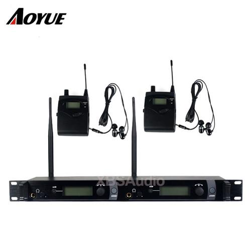 Sistema di palco professionale per cantanti UHF bodypack SR2050 IEM in ear monitor