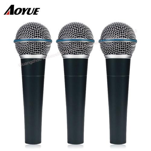 Microfono professionale con microfono a movimento dinamico con microfono dinamico Beta 58A