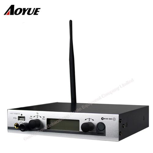 Sistema de monitoreo de audio inalámbrico EW300 G3 IEM profesional en la oreja