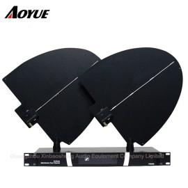 Yüksek kazançlı uzun mesafe UHF kablosuz mikrofon anten amplifer distributor
