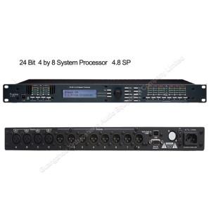 Ashely 4-In x 8-Out DSP profesjonalny cyfrowy procesor karaoke 4.8sp dla systemu PA