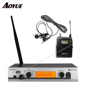 Monitoraggio audio wireless EW300 G3 IEM professionale nel sistema di monitoraggio dell'orecchio
