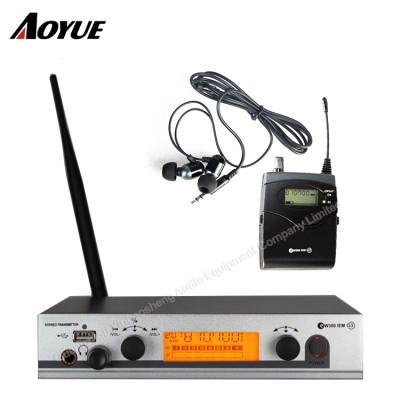 Professionelle EW300 G3 IEM Wireless Audioüberwachung In Ear-Monitor-System