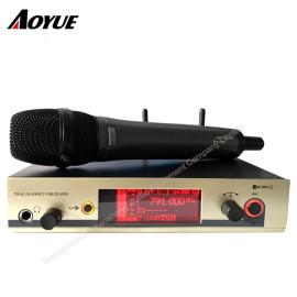 EW335 G3 kardioid el mikrofon gerçek çeşitlilik alıcı Profesyonel Mikrofon sistemi
