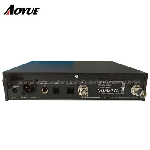 EW335 G3 cardioide handheld receptor de diversidad verdadera Sistema de micrófono profesional