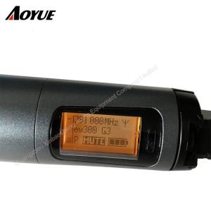 EW335 G3 cardioid handheld mic true diversity receiver Professional Microphone system