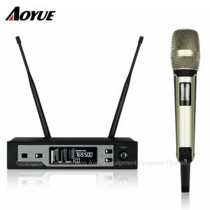 Professionelle Bühne UHF True Diversity Einkanal-Headset SKM9100 Wireless-Mikrofon