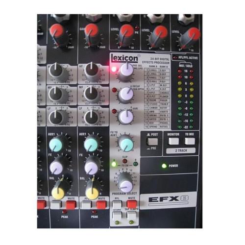 Mixer mixer audio professionale 8 canali ad alte prestazioni Lexicon EFX8