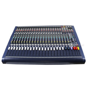 20 channel 3 Band audio built in DSP digital effect dj mixer console MFX20/2