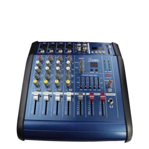 cheap price music dj digital usb interface PMX402D audio mixer with 4 channels