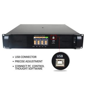 DSP FP-Serie 4 Kanal 1300 Watt FP6000q verbinden mit dem PC-Leistungsverstärker DSP6000Q