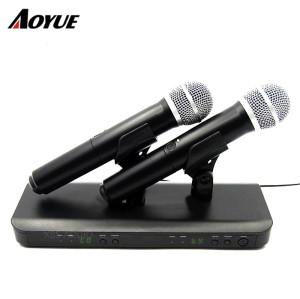 BLX Wireless Systems Zweikanalempfänger Handmikrofon BLX288 / PG58 Wireless System