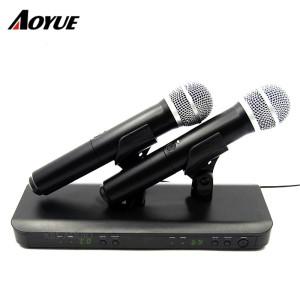 BLX Беспроводные системы Двухканальный приемник Ручной микрофон BLX288 / PG58 Беспроводная система