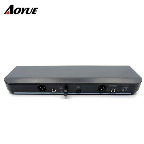 Sistema wireless BLX con microfono a ricevitore a canale doppio BLX288 / PG58