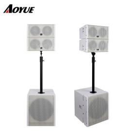 Profesjonalny mini system dźwiękowy Podwójny 5-calowy koncentryczny głośnik pasywny i aktywny szeregowy