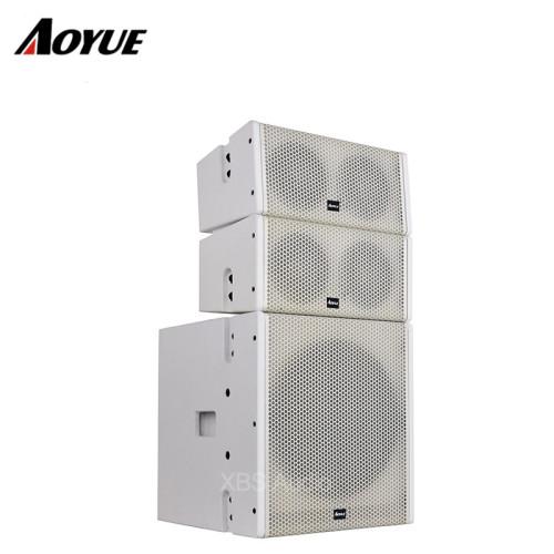 Mini sistema de sonido profesional Altavoz coaxial de 5 pulgadas Altavoz pasivo y matriz de línea activa