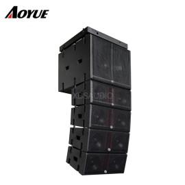 1600W Pojedynczy 18-calowy projektowy system dźwięku Sound System subwoofer Active Line Array