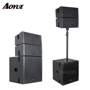 Newest Mini Double 5 inch coaxial Speaker power Active Line Array speaker