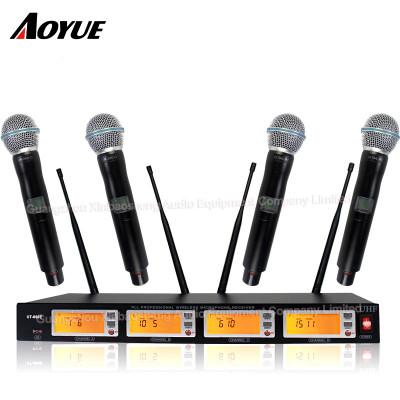 Perfekter Ton ein bis vier Kanal professionelle drahtlose Konferenz dynamische Headset Mikrofon