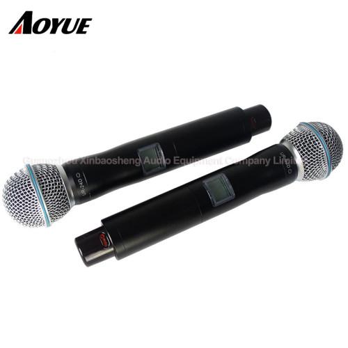 Microfono dinamico con microfono per conferenza wireless professionale da uno a quattro canali