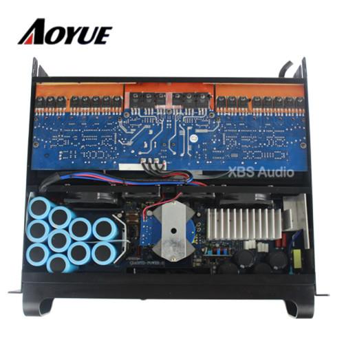 Alta potencia 4400 vatios 2 canales estéreo laboratorio FP14000 amplificador de potencia para doble 18 pulgadas subwoofer