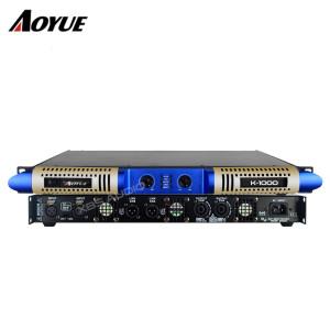 Model prywatny nowy panel 2 kanałowy 1000W cyfrowy cyfrowy wzmacniacz mocy K-1000