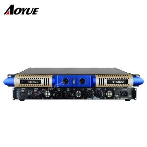 Modèle privé nouveau panneau 2 canaux 1000w classe D numérique K-1000 audio numérique amplificateur de puissance