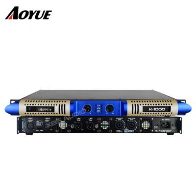 Private model neue panel 2 kanal 1000 watt klasse D digitale K-1000 audio digitale leistungsverstärker