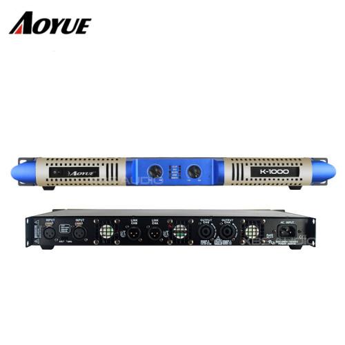 Modelo privado nuevo panel 2 canales 1000w clase D digital K-1000 amplificador de potencia digital de audio