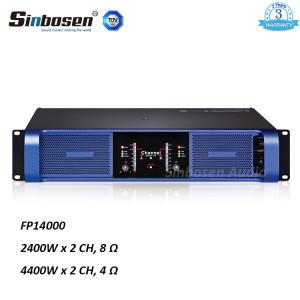 Sinbosen FP14000 4400w 2 Kanal Hochleistungsverstärker für zwei 18 Zoll Bass