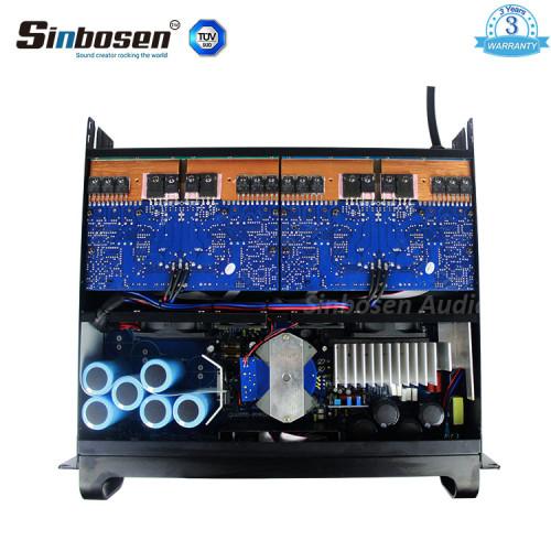 Sinbosen FP8000Q doppio amplificatore di potenza amplificatore a 4 canali RMS da 1000 watt