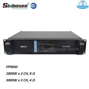 Sinbosen FP9000 3000w stereo dwukanałowy wzmacniacz mocy dźwięku z CE Rohs