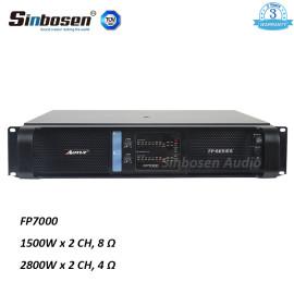Sinbosen FP7000 1500watt 2-kanałowy profesjonalny moduł ekstremalnego przełącznika zasilania profesjonalnego wzmacniacza