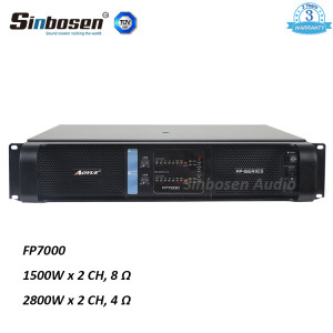 Sinbosen FP7000 1500watt 2 channel professional extreme module switch power supply professional amplifier